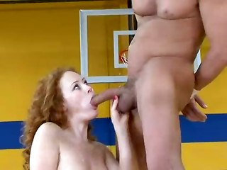 Fucking a volleyball player
