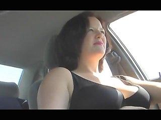 Masturbation In Car